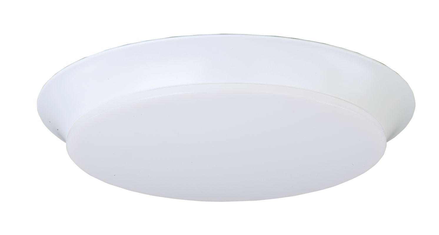 """Maxim 87597 1 Light 13.75"""" Wide LED Flush Mount Ceiling Fixture from"""