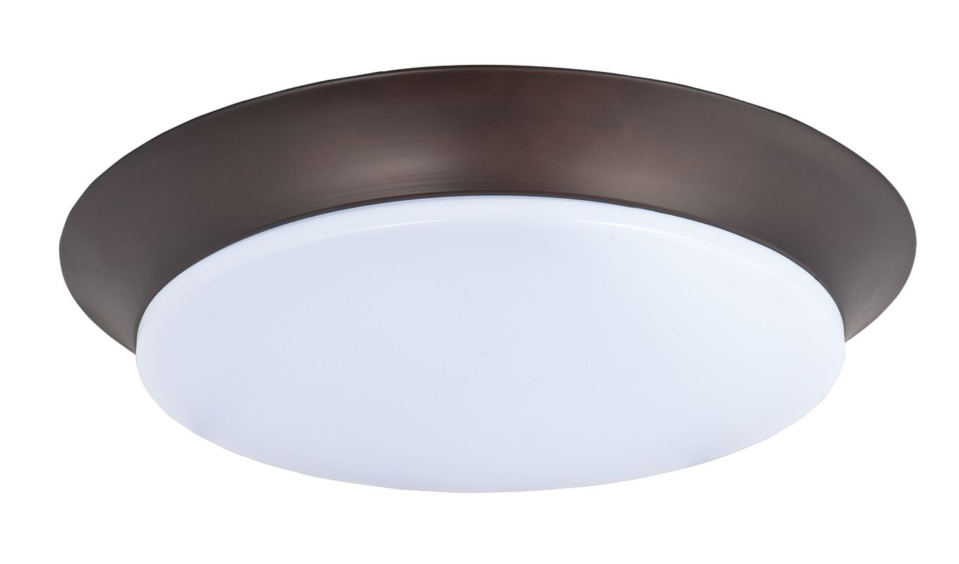 "Maxim 87598 1 Light 13.75"" Wide LED Flush Mount Ceiling Fixture from"