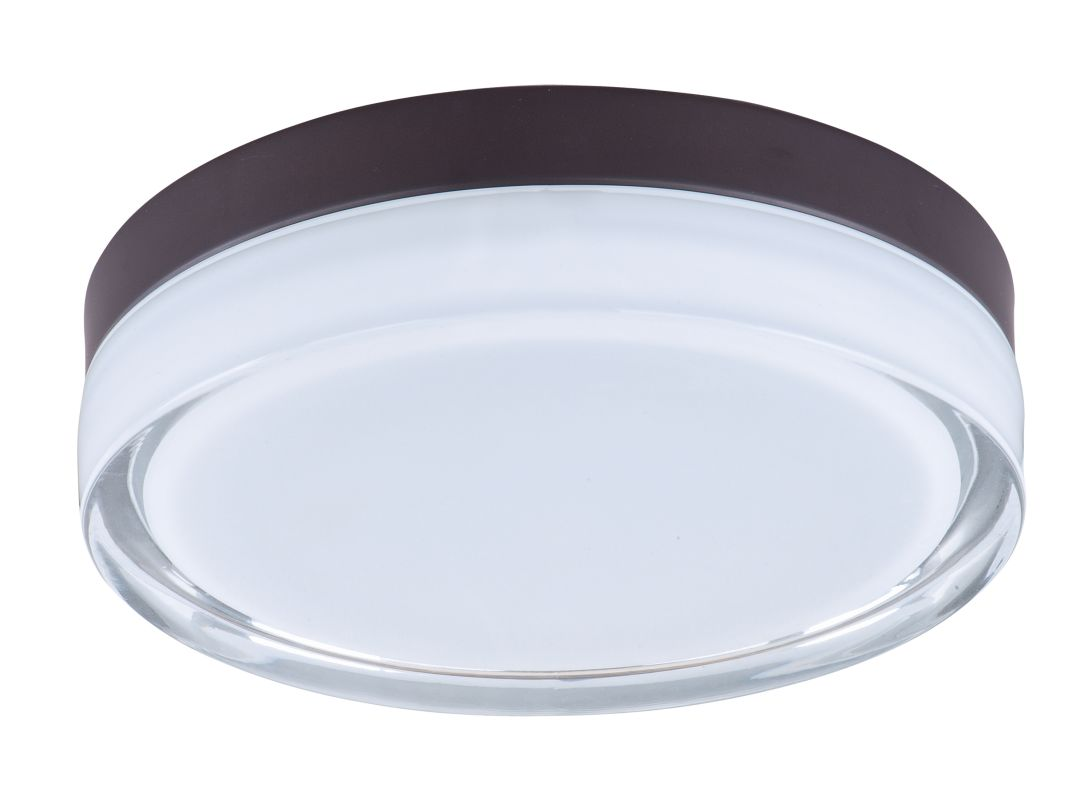 """Maxim 87632 1 Light 9"""" Wide LED Flush Mount Ceiling Fixture from the"""