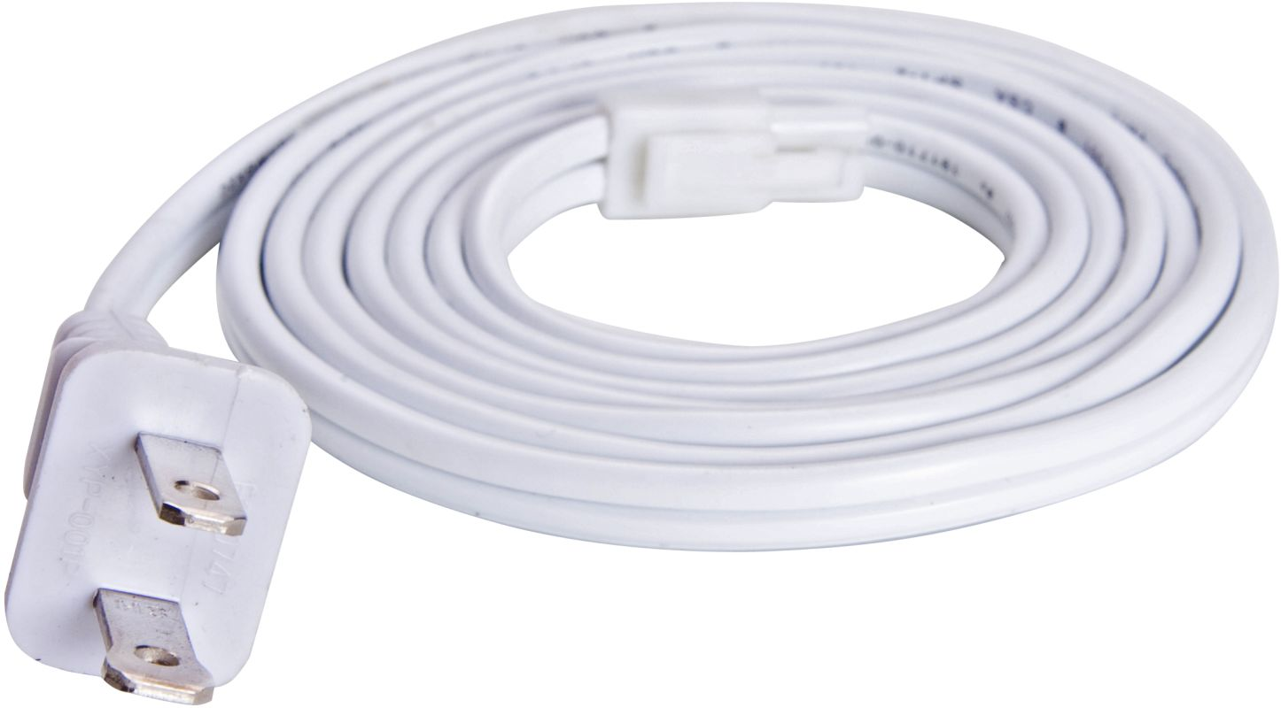 Maxim 87817 6ft. Power Cord from the CounterMax MX-L Collection White