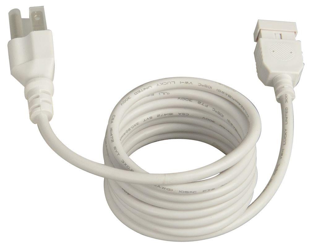 """Maxim 87880 CounterMax MXInterLink4 72"""" Power Cord White Accessory"""
