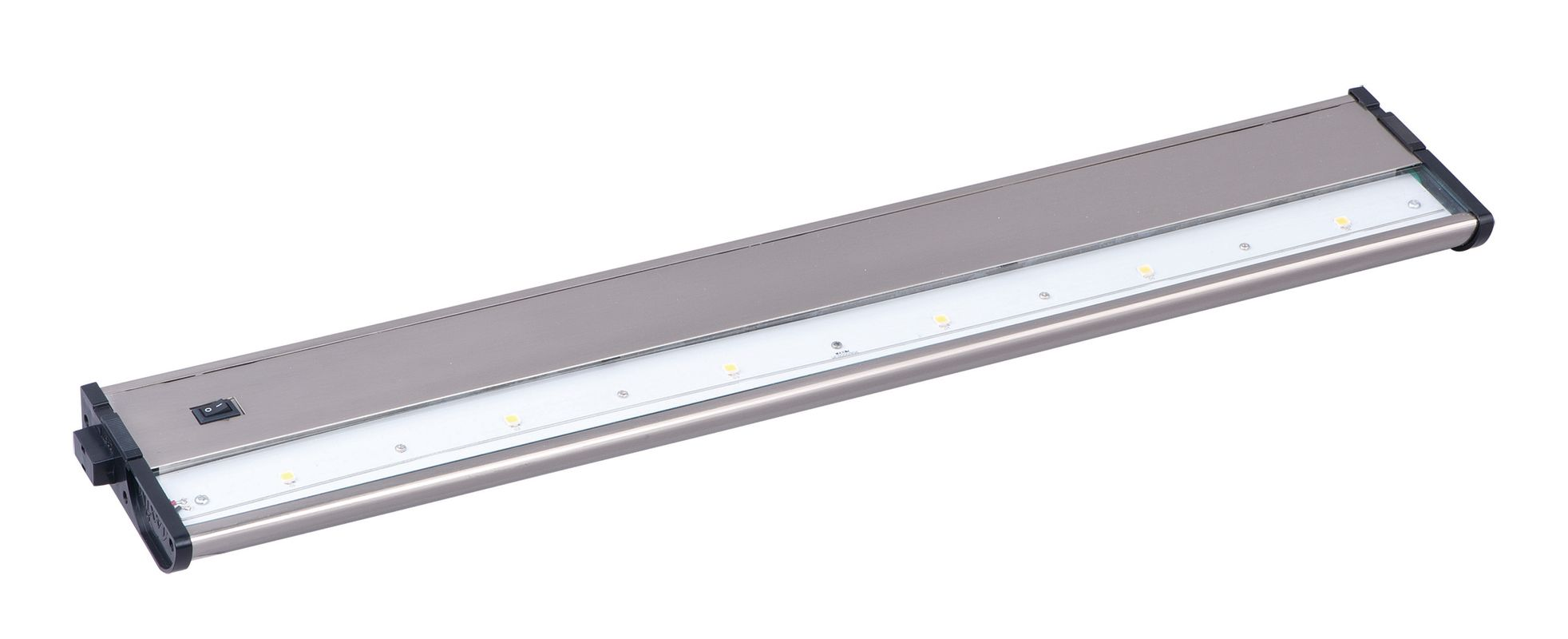 "Maxim 89914SN 21"" 6-Light LED Under Cabinet Light from the CounterMax"