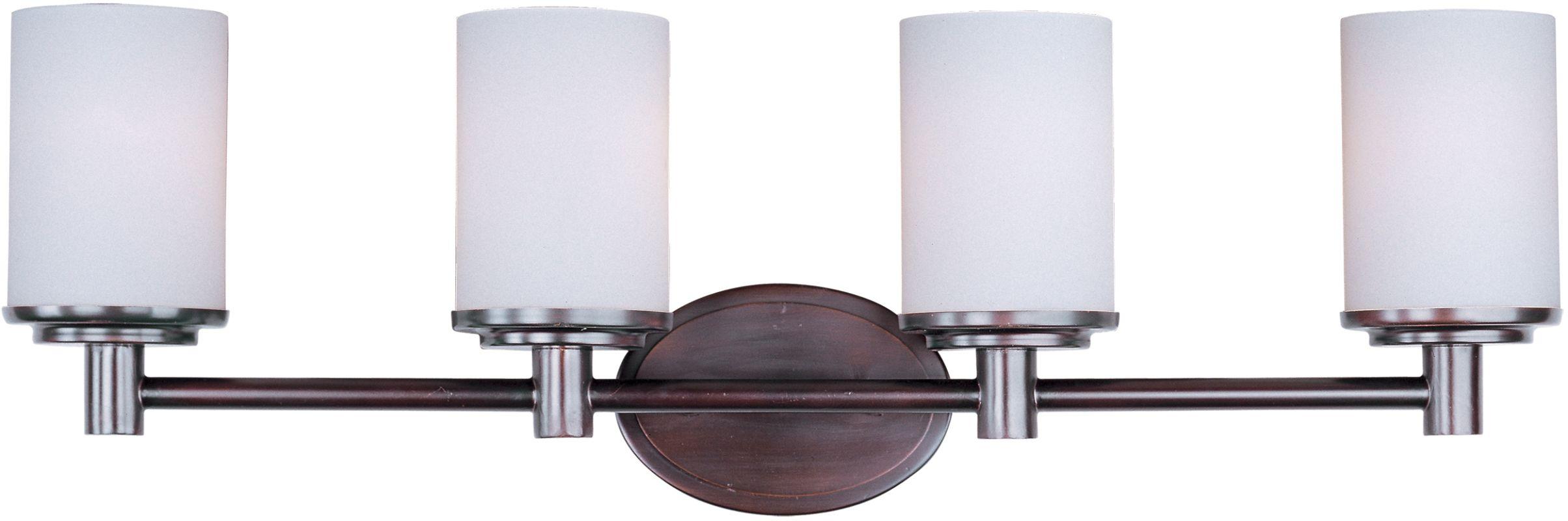 cylinder 29 wide 4 bulb bathroom light fixture