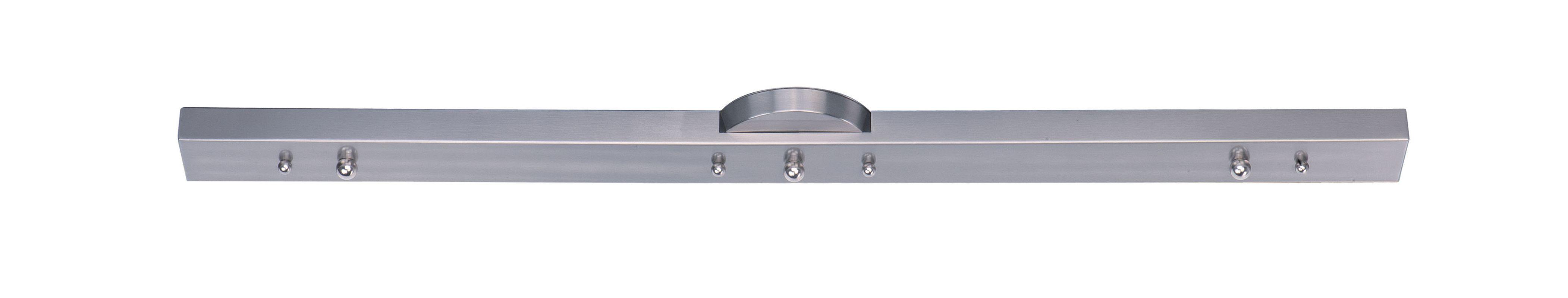 Maxim 91000 3 Light Linear Canopy for Mini Pendants Satin Nickel
