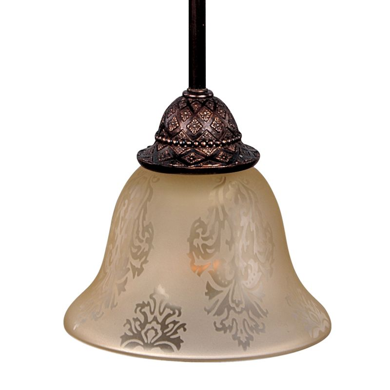 "Maxim 91049 1 Light 7"" Wide Pendant from the Symphony Collection Oil"
