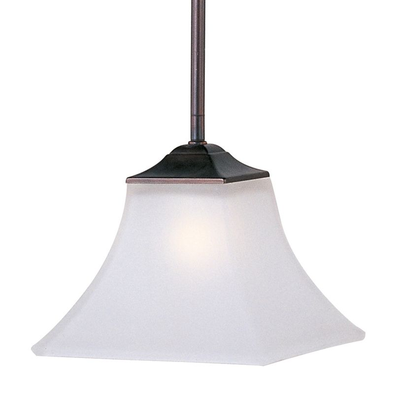 """Maxim 92090 1 Light 8"""" Wide Pendant from the Aurora Collection Oil"""