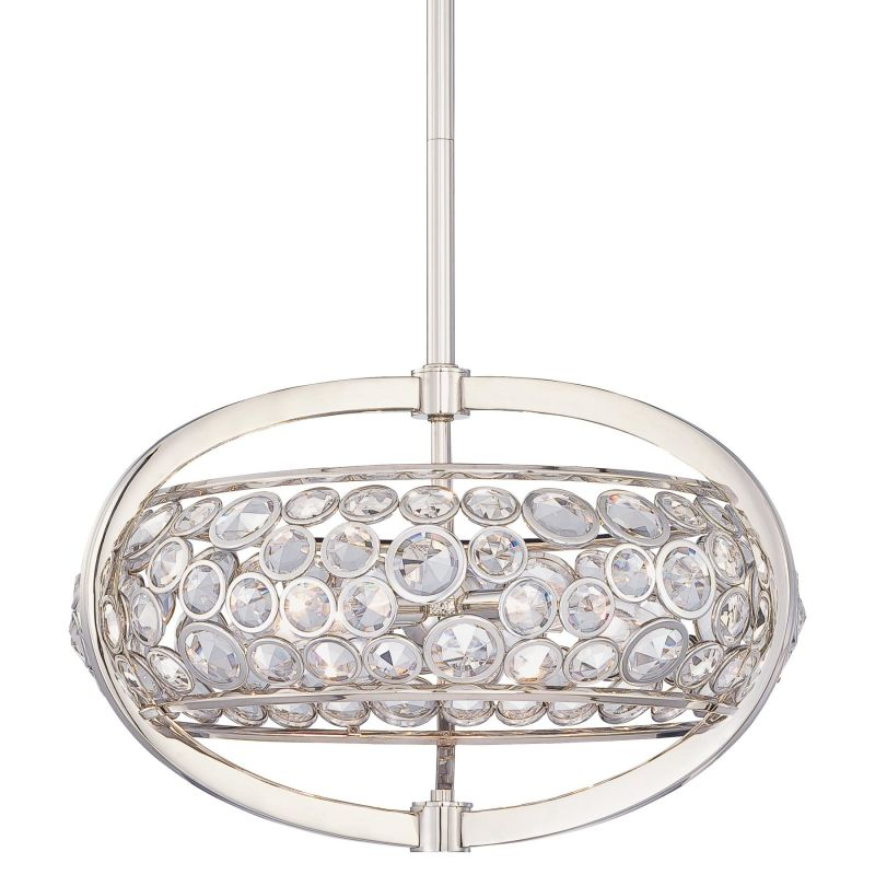 Metropolitan N6752 5 Light Drum Pendant from the Magique Collection Sale $501.50 ITEM: bci1684564 ID#:N6752-613 UPC: 840254038301 :