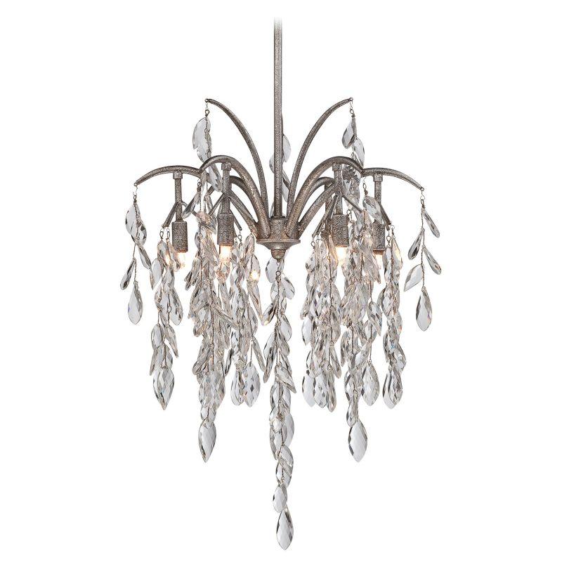 Metropolitan N6866-278 6 Light Full Sized Pendant from the Bella Flora