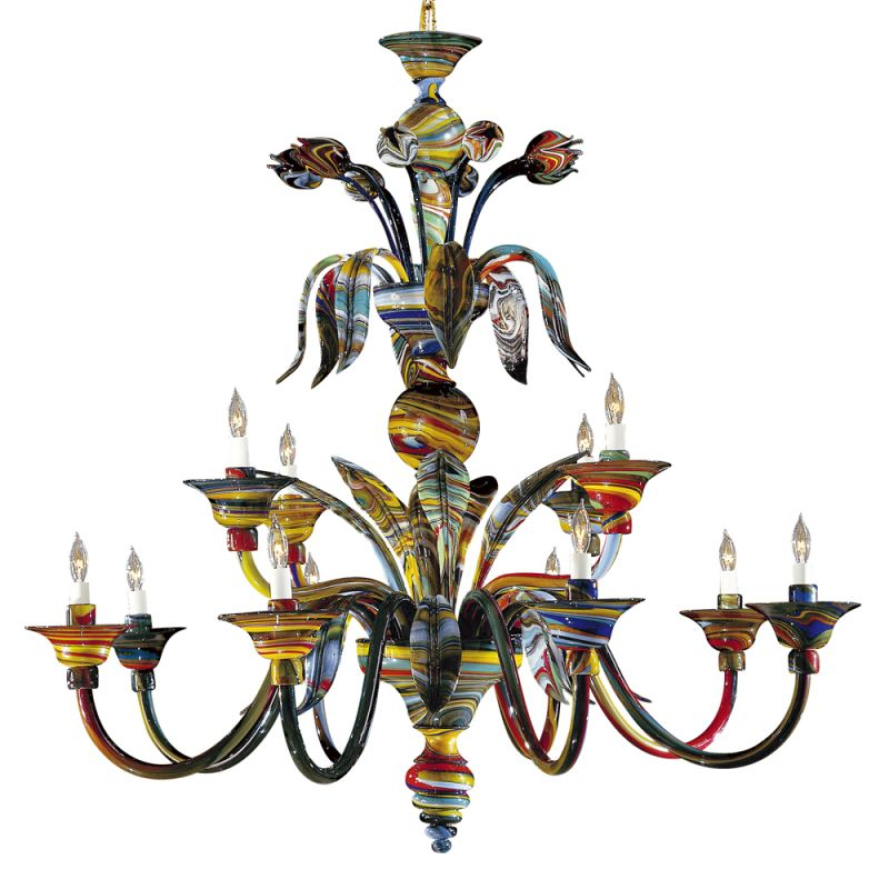 Metropolitan C7056/12 12 Light 2 Tier Candle Style Chandelier from the Sale $14689.95 ITEM: bci127874 ID#:C7056/12 UPC: 840254003729 :