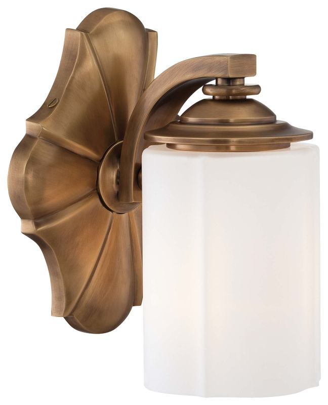 "Metropolitan N2941-575 1 Light 6"" Width Bathroom Sconce from the"