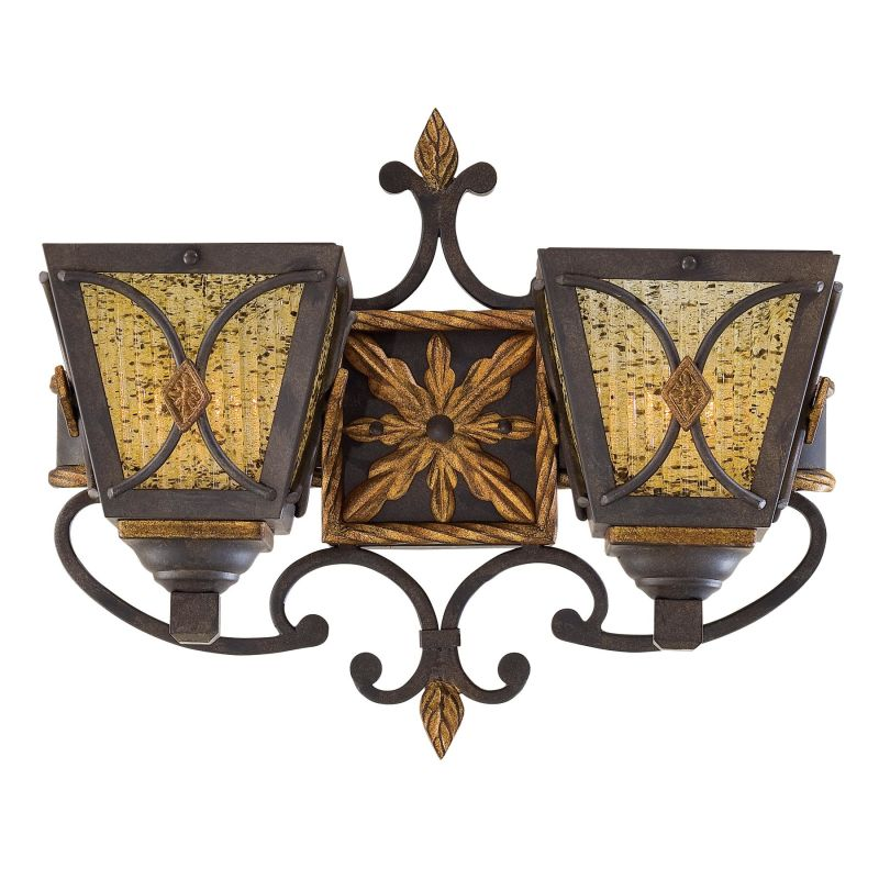 Metropolitan N6042 2 Light Lantern Double Wall Sconce from the Monte