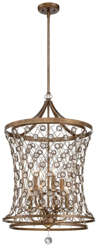 Metropolitan N6588-272 6 Light Full Sized Pendant from the Vel Catena