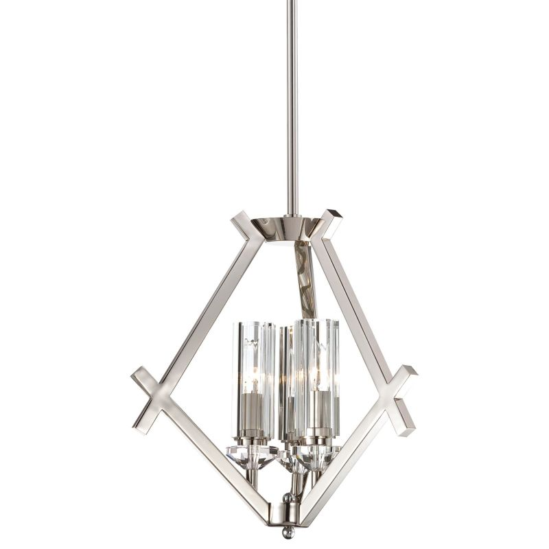 Metropolitan N6832-613 3 Light 1 Tier Mini Chandelier from the Fusano