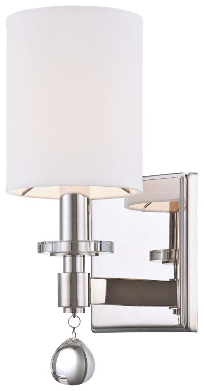 Metropolitan N2850-613 1 Light Uplight Wall Sconce from the Chadbourne