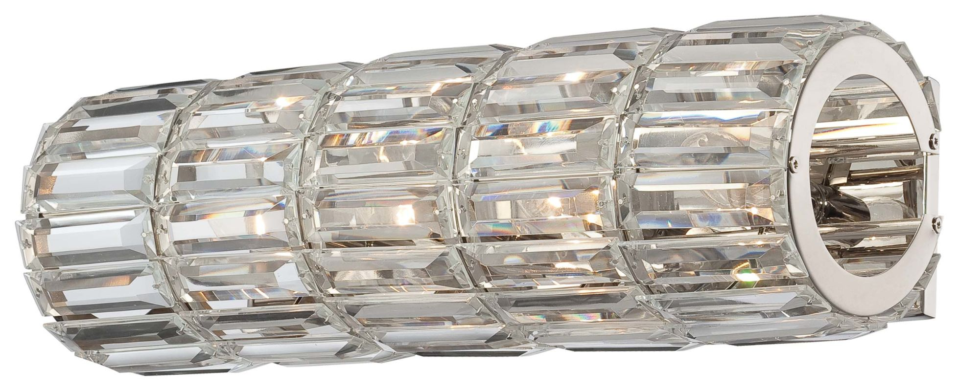 Metropolitan N6284-613 4 Light Wall Sconce from the Crysalyn Falls