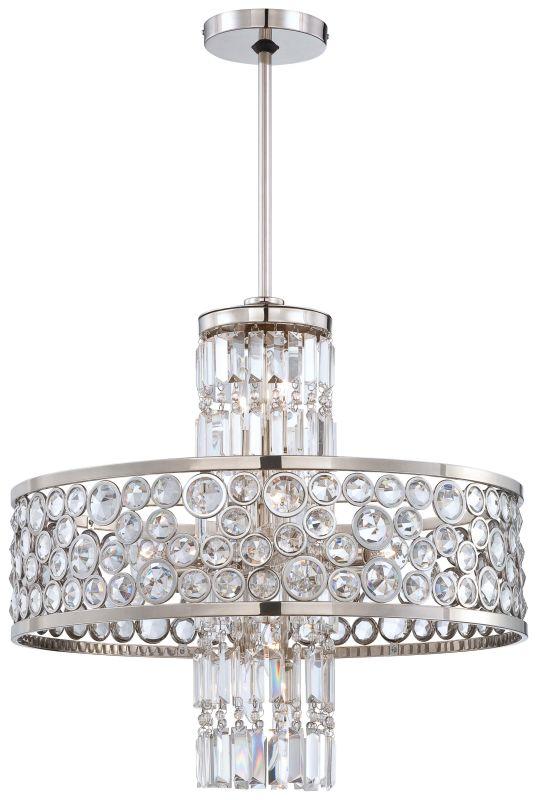Metropolitan N6759-613 13 Light 1 Tier Drum Crystal Chandelier from