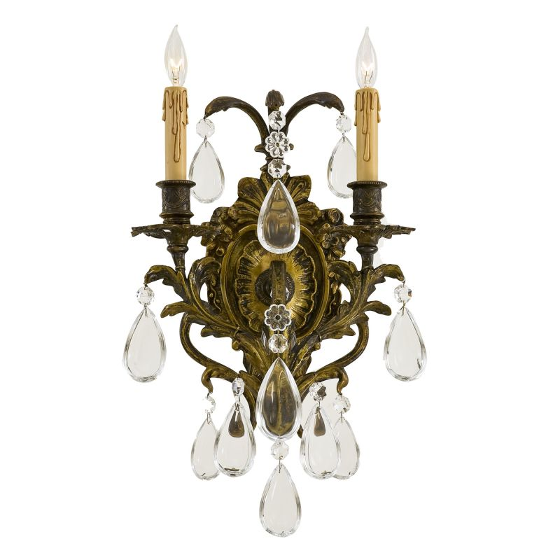 Metropolitan N2414 2 Light Candle-Style Wall Sconce from the Foyer