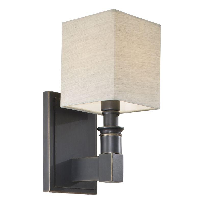 "Metropolitan N2681 1 Light 4.75"" Width Uplight Wall Sconce with Dust"