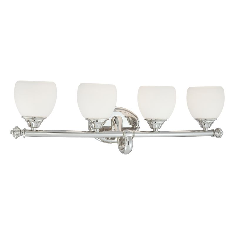"Metropolitan N2824 4 Light 30.5"" Width Bathroom Vanity Light from the"