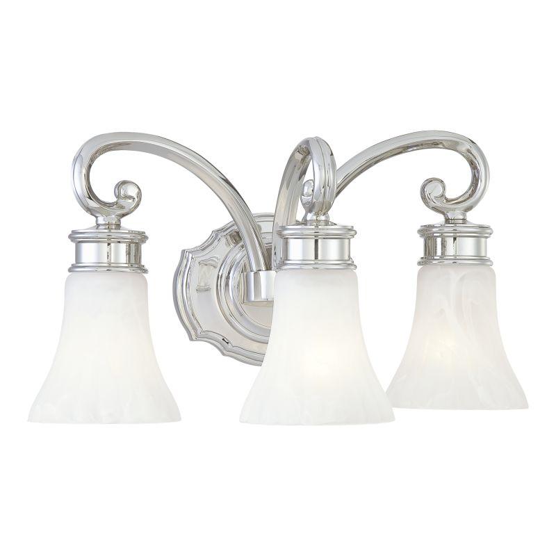 """Metropolitan N2843 3 Light 16.5"""" Width Bathroom Vanity Light from the Sale $369.95 ITEM: bci1684551 ID#:N2843-613 UPC: 840254038394 :"""