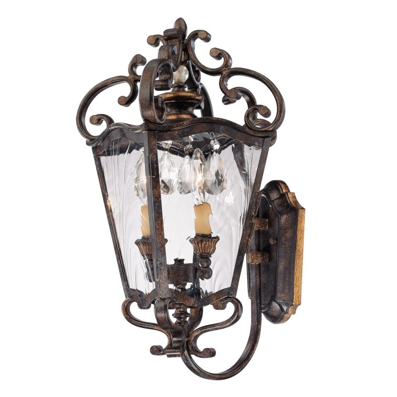 Metropolitan N3246 2 Light Coach Lantern Wall Sconce from the Sale $629.95 ITEM: bci1600453 ID#:N3246-270 UPC: 840254034709 :
