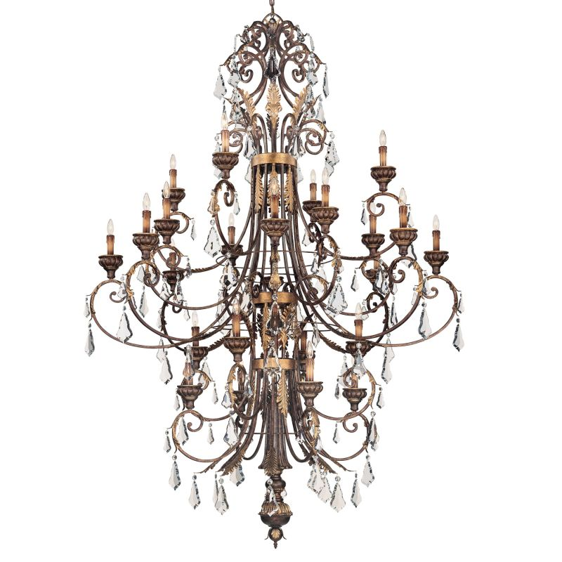 Metropolitan N6228 24 Light 3 Tier Chandelier from the Metropolitan