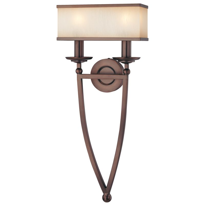 Metropolitan N6962 2 Light Double Torchiere Wall Sconce from the