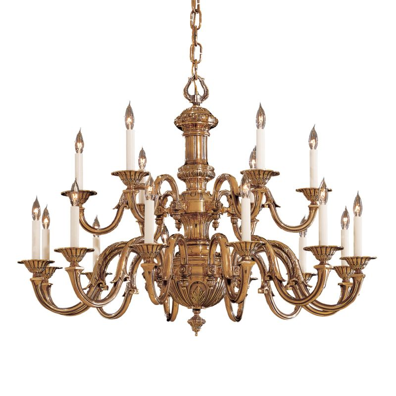 Metropolitan N700218 18 Light 2 Tier Candle Style Chandelier from the