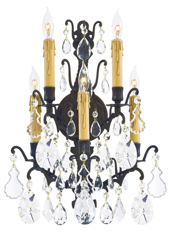 Metropolitan N820 5 Light Candle-Style Wall Sconce from the Vintage Sale $619.95 ITEM: bci185301 ID#:N820-BZ UPC: 840254004399 :