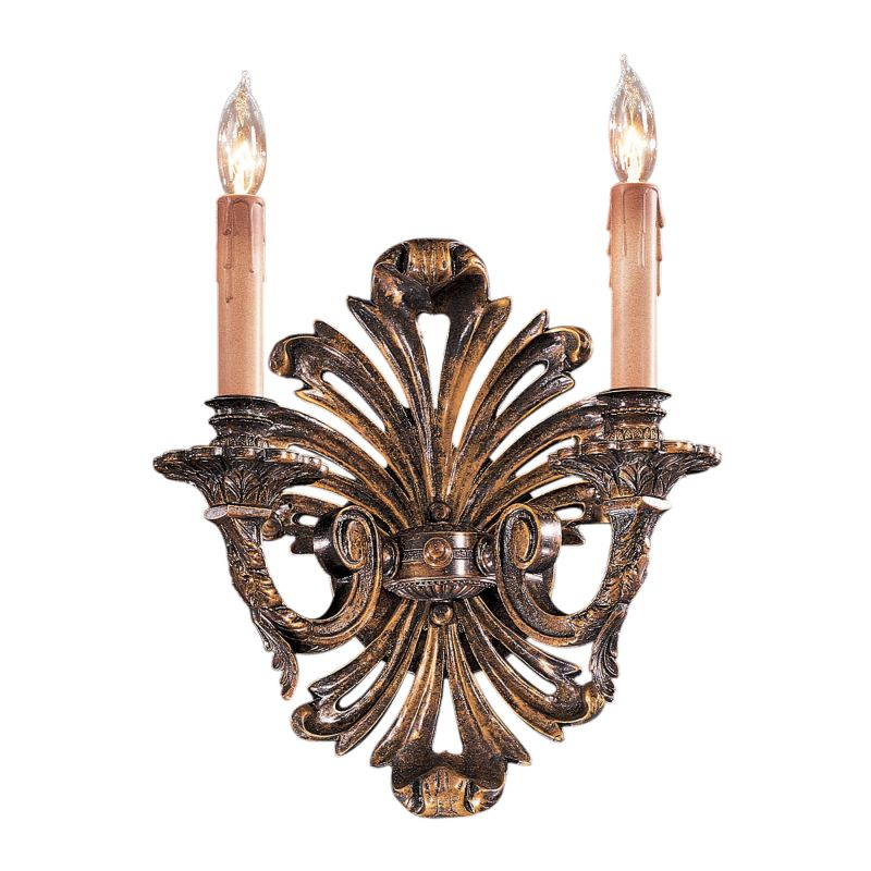 "Metropolitan N952010 2 Light 11.25"" Width Candle-Style Double Wall"