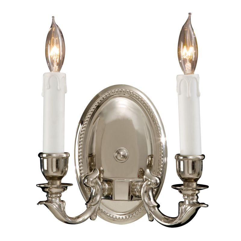 Metropolitan N9809 2 Light ADA Compliant Candle-Style Double Wall