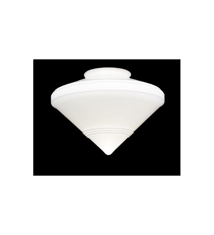 Meyda Tiffany 101442 Deco Fanlight Shade White Ceiling Fan