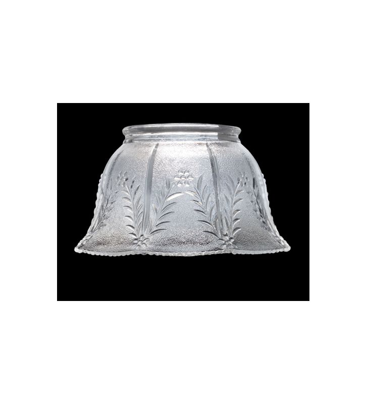 Meyda Tiffany 101464 Crystal Glass Shade with Wheat Design N/A