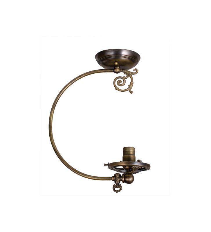 Meyda Tiffany 101563 Single Light Semi-O91Flush Ceiling Fixture