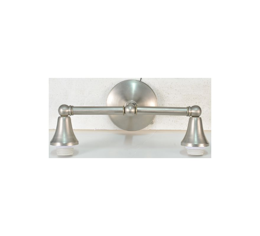 "Meyda Tiffany 104895 14"" Wide 2 Light Vanity Light Hardware Pewter"