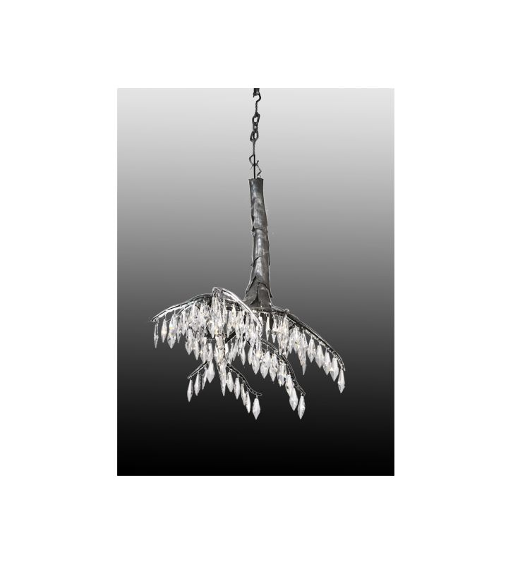 Meyda Tiffany 105212 Single Light Down Lighting Mini Chandelier from