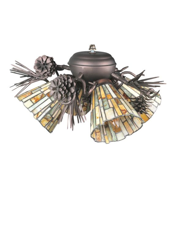 Meyda Tiffany 105716 Four Light Down Lighting Fan Light Kit from the Sale $1260.60 ITEM: bci876766 ID#:105716 :