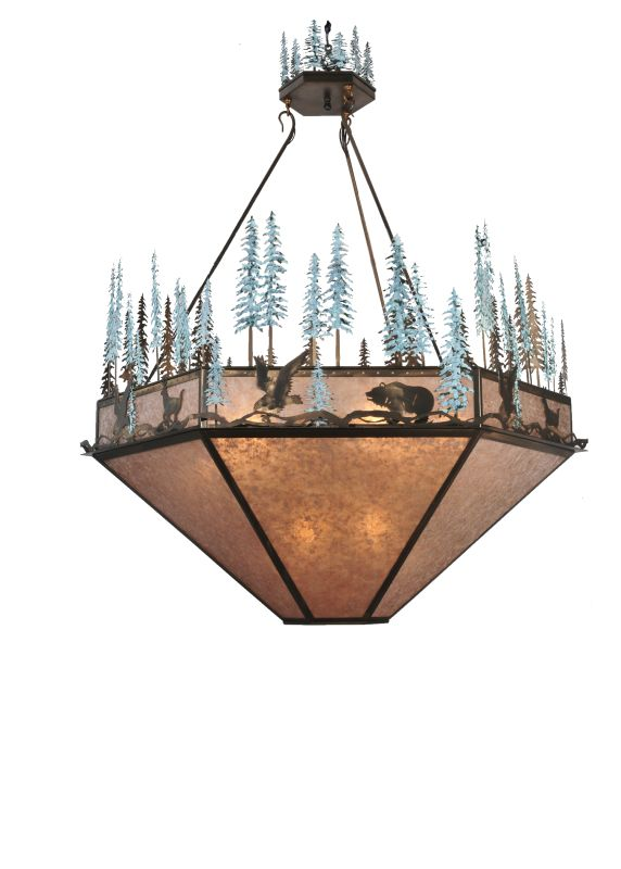 Meyda Tiffany 106009 Nine Light Down Lighting Bowl Pendant from the