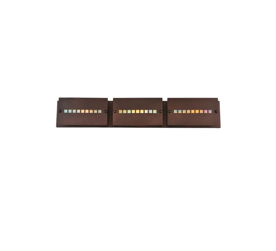 "Meyda Tiffany 106315 Three Light Ambient Lighting 36"" Wide Bathroom"