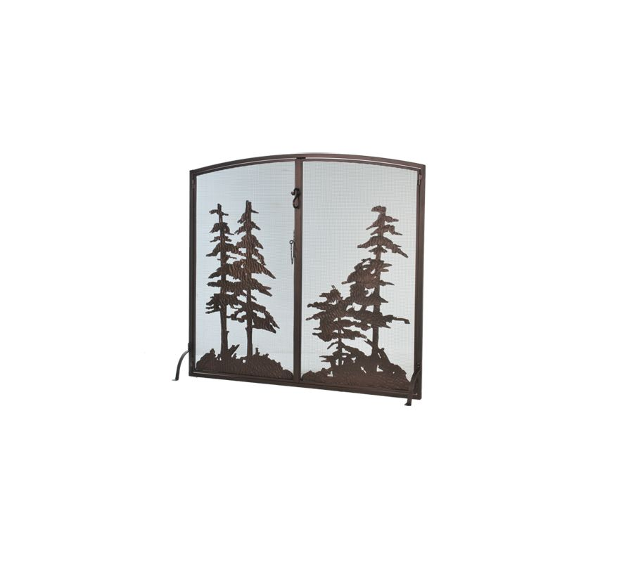 Meyda Tiffany 106333 Arched Fire Screen from the Wildlife Collection Sale $2299.00 ITEM: bci876684 ID#:106333 :