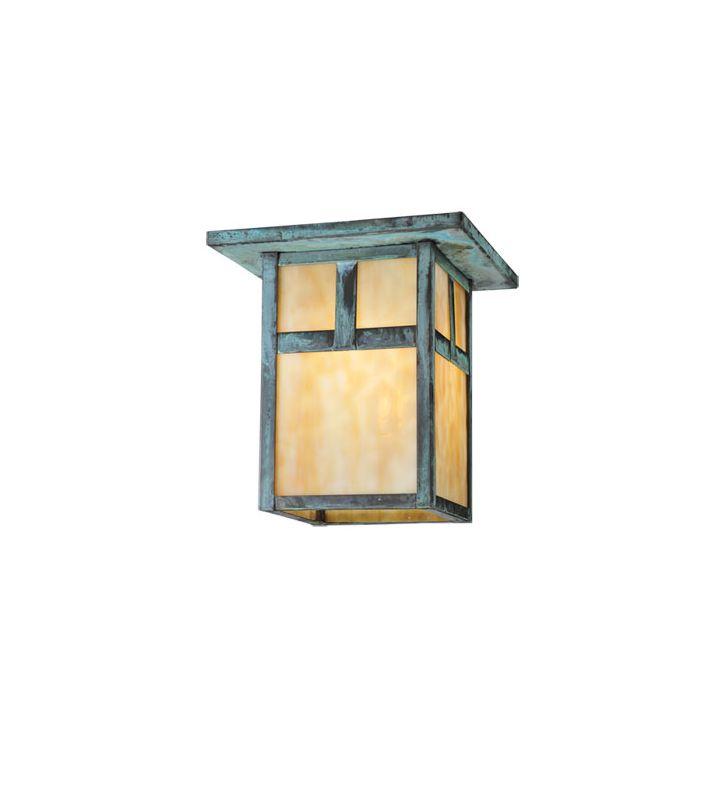 Meyda Tiffany 107460 Single Light Down Lighting Outdoor Flush Mount