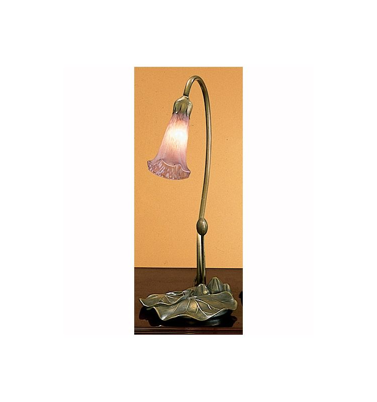 Meyda Tiffany 12615 Stained Glass / Tiffany Desk Lamp from the Lilies Sale $66.60 ITEM: bci31298 ID#:12615 UPC: 705696126156 :