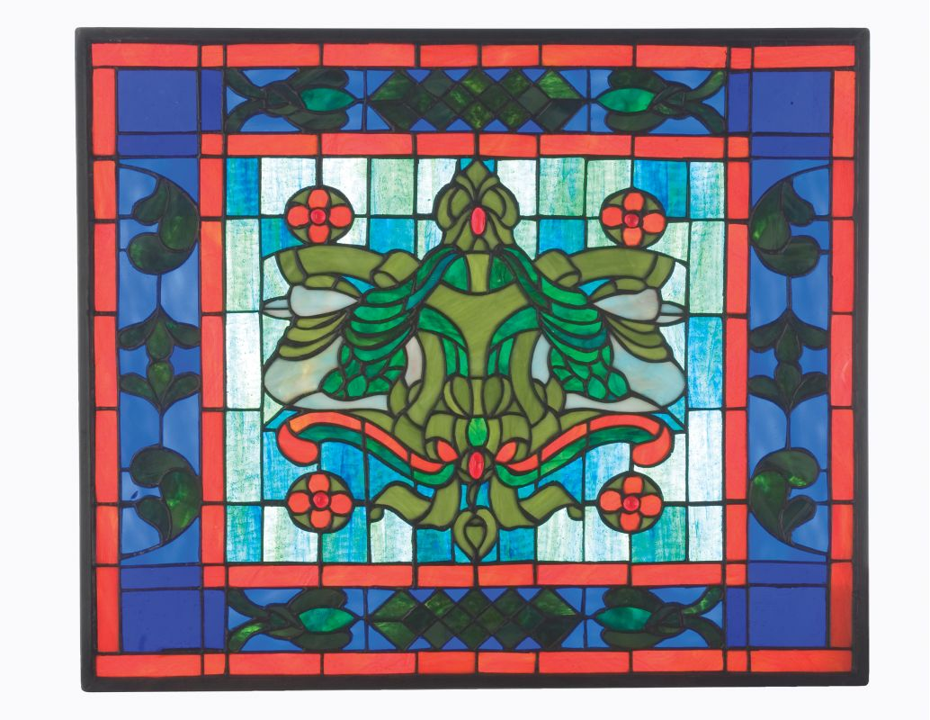 Meyda Tiffany 12705 Tiffany Stained Glass Window Pane from the