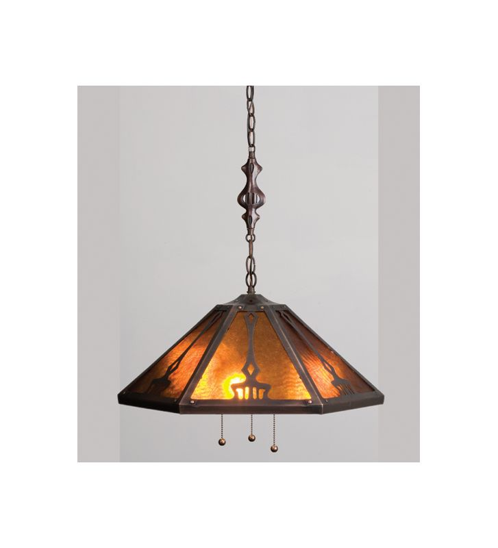 Meyda Tiffany 13226 Craftsman / Mission Down Lighting Pendant from the Sale $237.60 ITEM: bci32646 ID#:13226 UPC: 705696132263 :