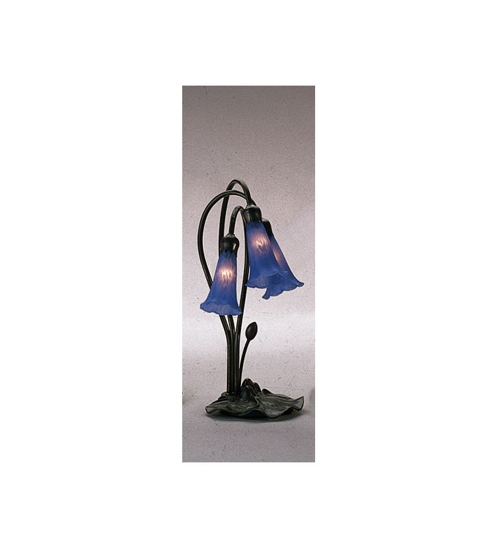 Meyda Tiffany 13746 Stained Glass / Tiffany Desk Lamp from the Lilies Sale $108.00 ITEM: bci246173 ID#:13746 UPC: 705696137466 :