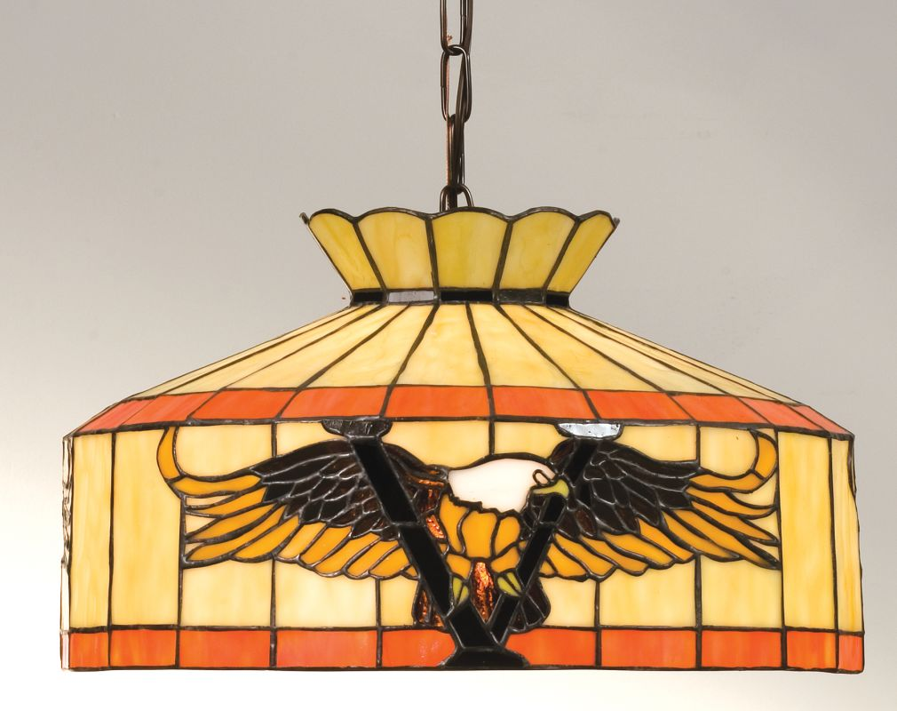 Meyda Tiffany 13872 Stained Glass / Tiffany Down Lighting Pendant from