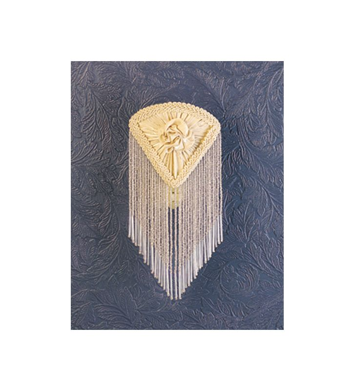 Meyda Tiffany 15107 Night Light from the Fabric & Fringe Collection