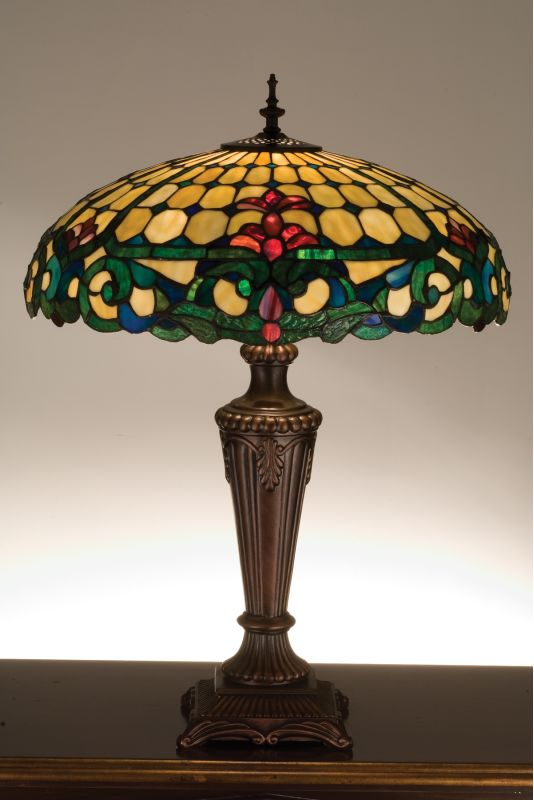 Meyda Tiffany 15707 Stained Glass / Tiffany Table Lamp from the Studio Sale $417.60 ITEM: bci35909 ID#:15707 UPC: 705696157075 :