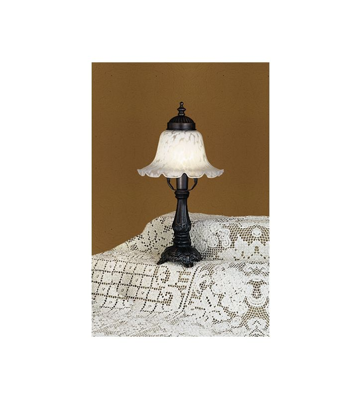 Meyda Tiffany 16977 Stained Glass / Tiffany Accent Table Lamp from the
