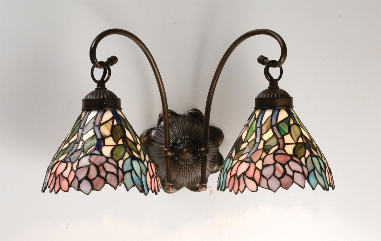 Meyda Tiffany 18722 Stained Glass / Tiffany Down Lighting Wall Sconce